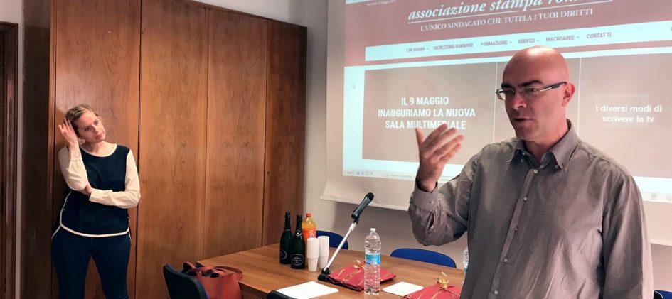 Sala Serra/Angelici Stampa romana
